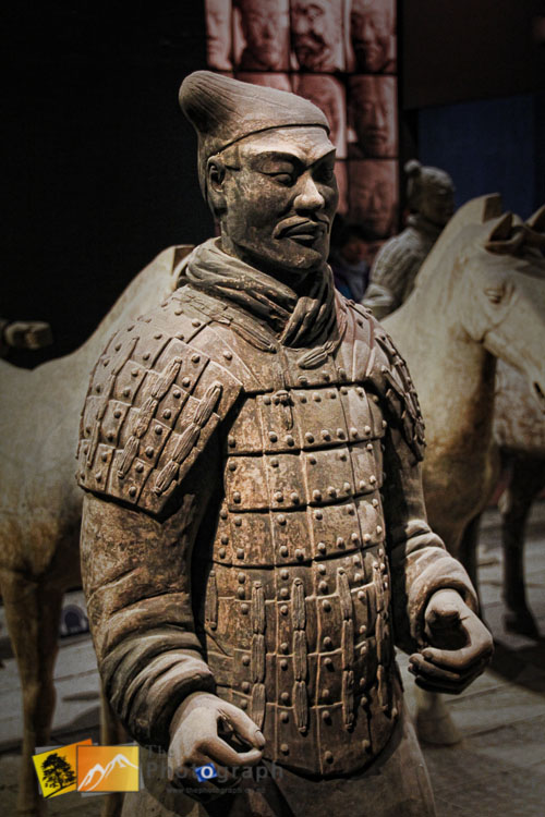 one of the Terra Cotta Warriors