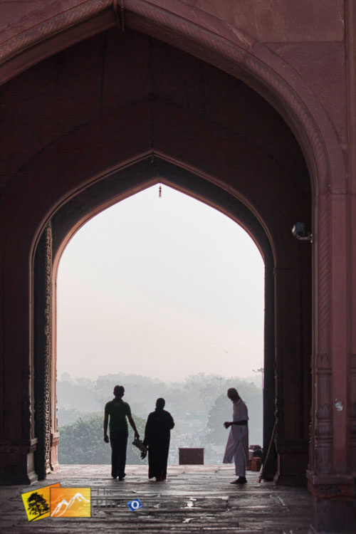 Archway to Jama Masjid Mosque