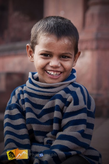 Beggar boy in Delhi India