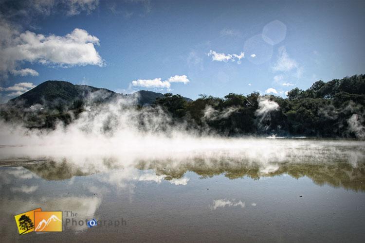 Rotorua Waiotapu thermal park.