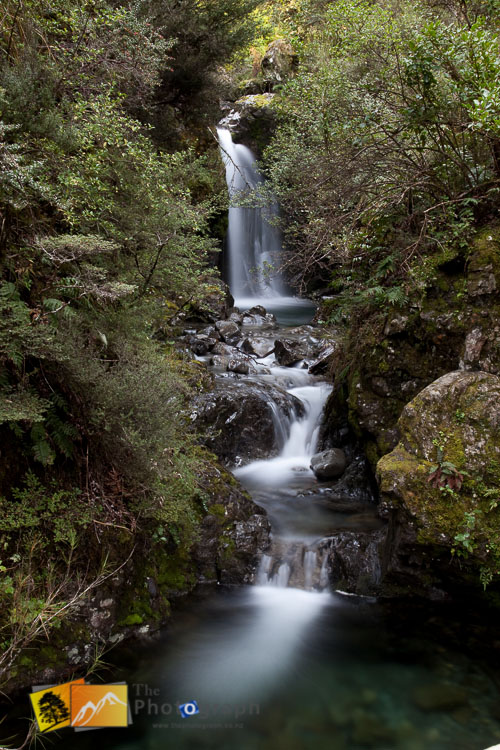 Arthurs pass waterfall.