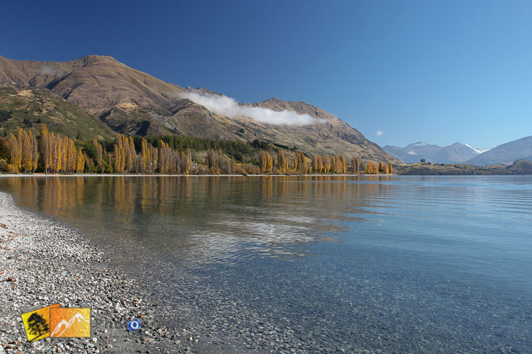 Still day at lake Wanaka.