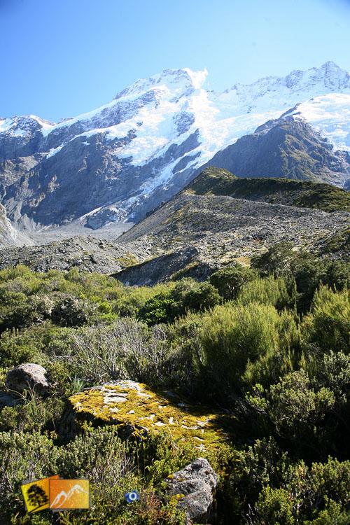 Mount cook landscape.