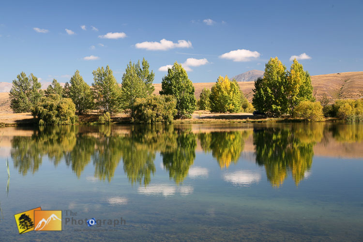 Perfect reflections at Twizel.