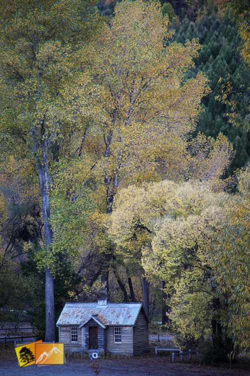 Old settlers house at Arrowtown.