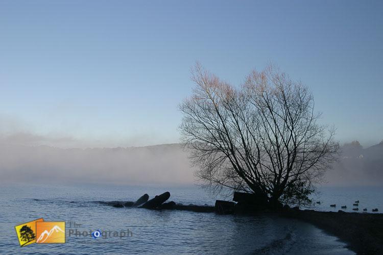 Taupo at early morning.