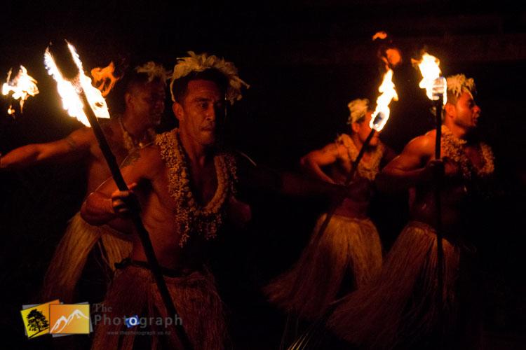 tonga fire dance
