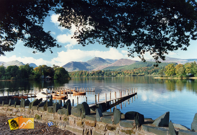 lake shore of Keswick