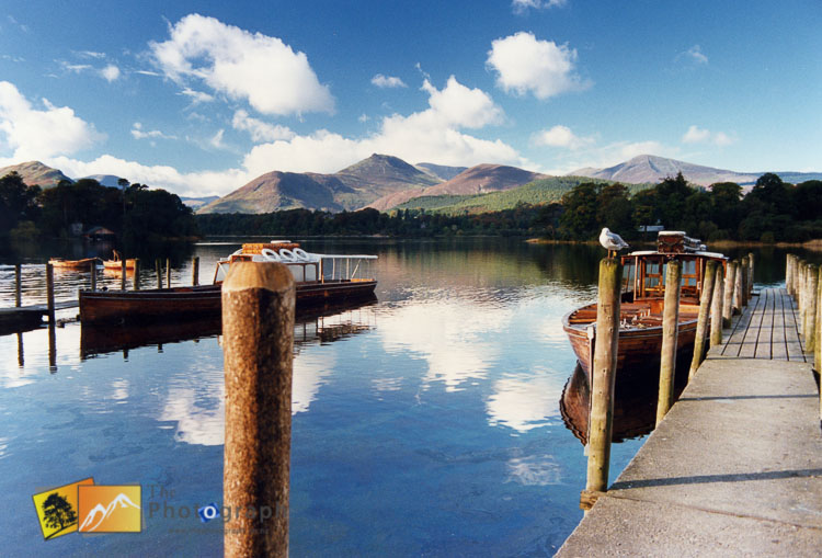 keswick jetty on the lake